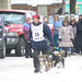 Melissa Owens finishing the Iditarod