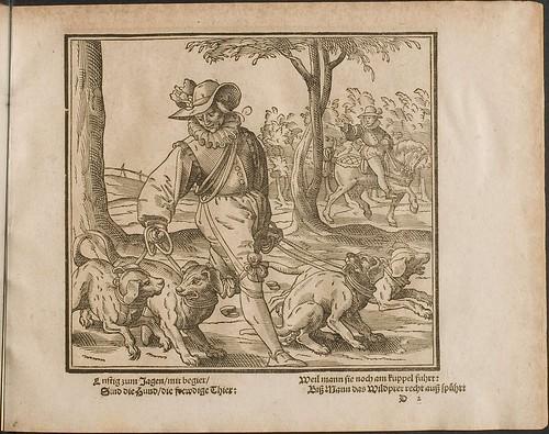 Kunstliche Wolgerissene Figuren by Tobias Stimmer and Christoph Maurer 1605 b