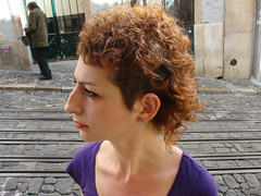 curly haircut red color (wip-hairport) Tags: red haircut hair lisboa lisbon curly hairdresser caracis hairport