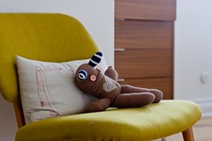 nap time (yodraws) Tags: bedroom chair pillow inmyhouse sockdoll beerhorst studiok