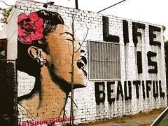 MBW (ITSAWONDERFUL-WORLD.COM) Tags: life california street art beautiful la is los mr angeles brainwash brea mbw artshow2008com