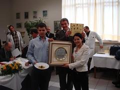 La premiazione