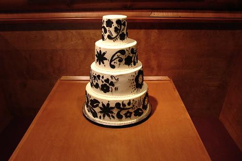 Modern wedding cake Originally uploaded by Herbert Harper