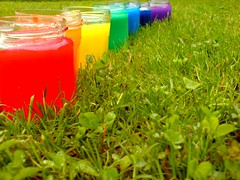 #24/365- Rainbow- my favourite flavour (Her life in pictures) Tags: life color colour rainbow colours jars minski colourartaward zenhe