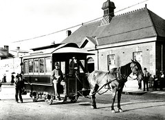 Horsedrawn tram