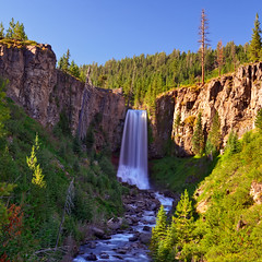 Tumalo Falls Exposed (Fort Photo) Tags: vacation nature oregon landscape outdoors waterfall nikon pacific northwest bend or falls cascades pacificnorthwest cascade pnw hdr squarecrop d300 tumalofalls tumalo tumalocreek impressedbeauty 2008reunionnature