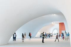 #台中國家歌劇院 (David C W Wang) Tags: 台灣 台中 台中國家歌劇院 sonya7ii voigtlandernoktonclassic35mmf14mc taichung taiwan 現代建築