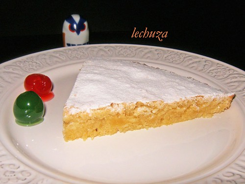 Tarta de Santiago-plato bien