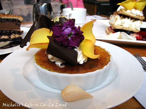 Extraordinary Desserts- Chocolate Brownie Creme Brulee