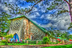 Sagada Church (frborj) Tags: church parish nikon philippines virgin sagada stmary hdr episcopal mtprovince d40 frborj