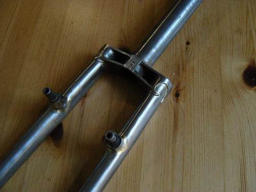 Twin Plate Crown Fork For Sale