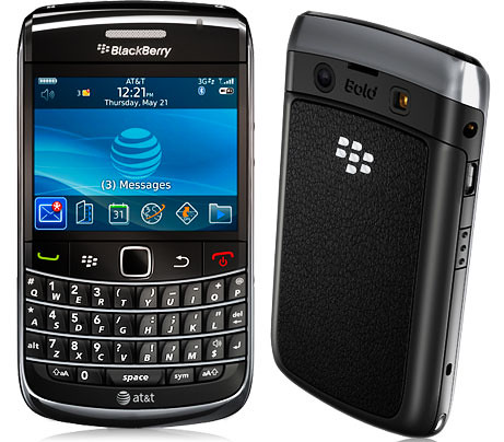BlackBerry Bold 9700: Smartphone con pantala LCD TFT