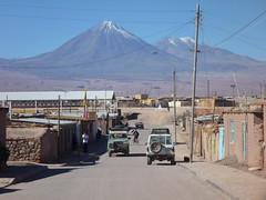 San Pedro de Atacama et le Licancabur
