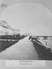E01345 Grand Parade (East Sussex Libraries Historical Photos) Tags: pier seaside victorian eastbourne leisure bathing seafront 1860s eastsussex 1870s grandparade