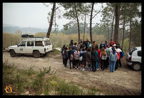 Os alumnos do Proval plantan árbores en Couso