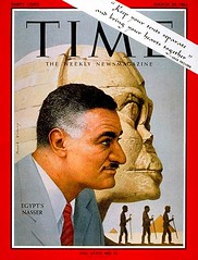 President Nasser on the cover of the time for the fourth time (Kodak Agfa) Tags: people history media egypt cover magazines timemagazine egyptians coverboy