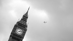 The Tower of Big Ben, Westminster, London, 13:11, 10 October 2007