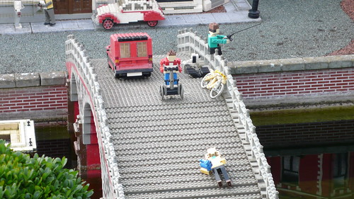legoland - miniland - accident