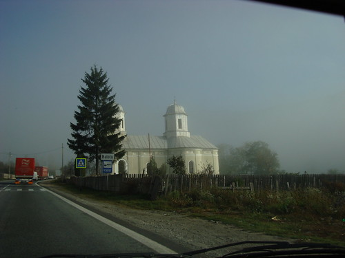 fog in Carpathes