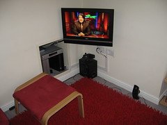 Tidy TV setup