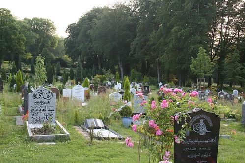 ein muslimischer Friedhof