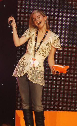 Emma Watson @ Nickelodeon