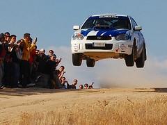 SUBARU FLY !! (DIAZ-GALIANO) Tags: car jump nikon rally coche subaru salto soe navalcarnero riberas rallie diazgaliano