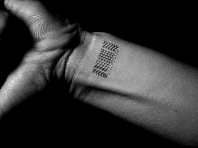 Bar Code Tattoo