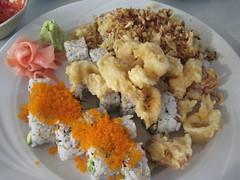 IMG_0466.JPG (notagrouch) Tags: food sushi lunch san awesome go daikon shi lagunabeach daikan lagunasunset sanshigo crunchycalamari
