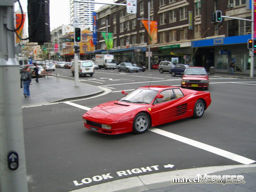 Ferrari Testarossa. go back