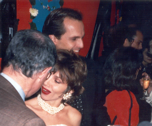 enrique del pozo, victoria abril y miguel bose new york party HIGH HILLS TACONES LEJANOS en el BACCUS