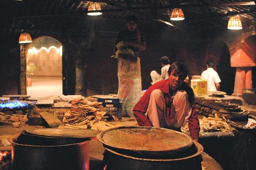Naan factory