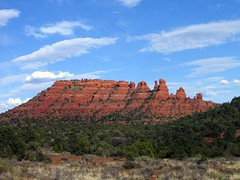 Into the Wild (AsherBlue) Tags: blue red wild arizona sky nature beautiful clouds desert sedona redrocks wilderness