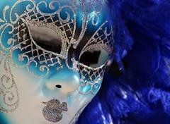 blue mask, Venezia