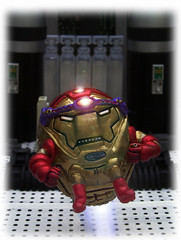 IRON MAN - IRON  M.O.D.O.K (zero g) Tags: rob robjan ironman marvelcomics sculpture modok melbourne victoria australia supersculpey milliput ironmanthearmoury ironmanhulkandnightcrawler fourcolorworld imagination scificatchall somethingwickedthiswaycomes anythingabsurd creativetabletopphotography polymerclaysculpture robotstechnologypopculture odduglythingsallovertheworld thebiggestgroupplaygroundforpsychotics toydioramarama anythingeverything wrong toys avenger avengers ironman50thanniversary ironman50thbirthday