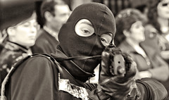 CARNIVAL TERROR (peke_cheeks) Tags: carnival gun e3 balaclava