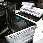 "Synth setup for the Amy and Vince tour <a style=""margin-left:10px; font-size:0.8em;"" href=""http://www.flickr.com/photos/23722741@N04/2261157786/"" target=""_blank"">@flickr</a>"