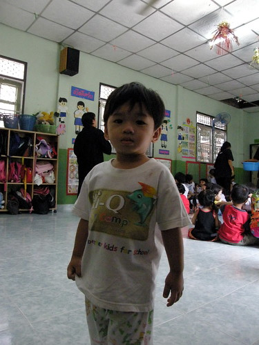 Kids at Bangkok Daycare