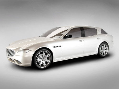 2008 Maserati Cinqueporte Concept by StudioM and StudioTorino