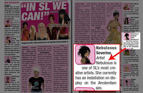 The Avastar's Top 10 Women of SL -- me!?!!?!!