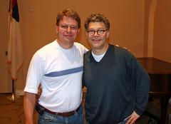 Dave with Al Franken