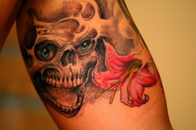Tattoo Totenkopf | Fl...