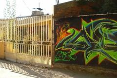 (Asie) Tags: wild pared fire graffiti asie xxx graff fuego wildstyle zade grietas quilpue fros a loscarreras paradero28