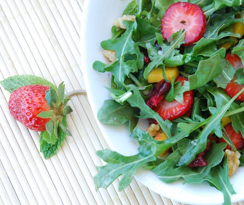 seductive strawberry salad
