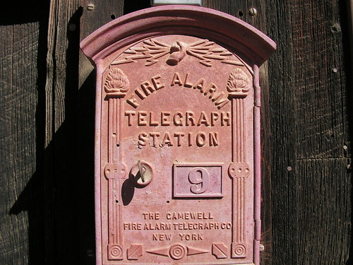 Old telegraph box