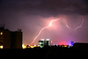 Lightning over Budapest (Charlie Holbech) Tags: weather night hungary earth budapest electricity thunderstorm lightning thunder severe worldweather