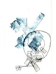 abstract n 06 (Franois Van Damme) Tags: abstract collage cutout drawings francois van swahili damme