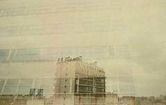 (olll) Tags: sky building silver doubleexposure ciel nikonfe foreground surimpression silverfilm cliniquedeslilas