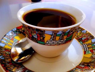 Ethiopian coffee at Addis in Cape