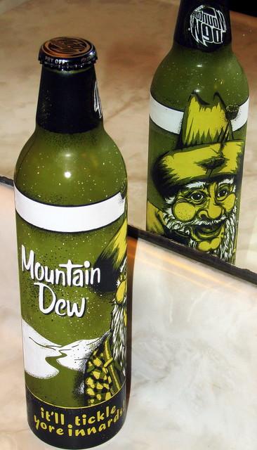 Mountain Dew new retro hillbilly design